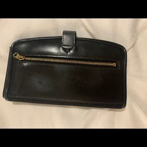 Vintage DOONEY & BOURKE Cabriolet Black Wallet